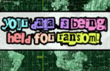 your data is being held for ransom graphic