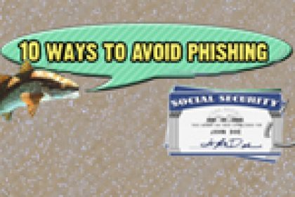 10 ways to avoid phishing scams