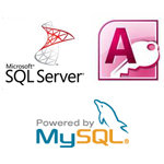 We Support SQLserver, Access, and MySQL