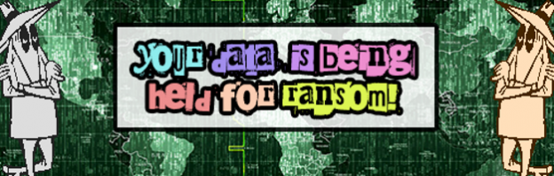 Your data is being held for ransom