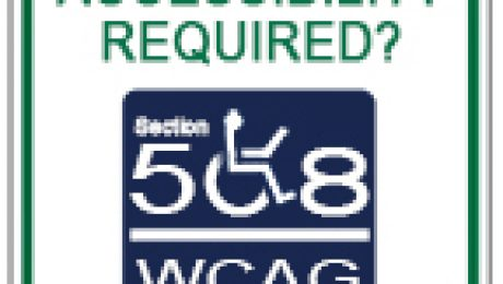 Accessibility Required? Section 508, WCAG thumbnail graphic