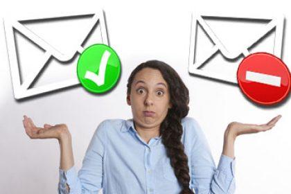 spam filter false positives